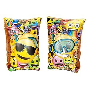 Emoji-25459 Set Manguitos hinchables, Multicolor (Saica 5889)