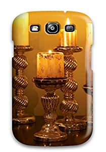 High-quality Durability Case For Galaxy S3(candle Lights)