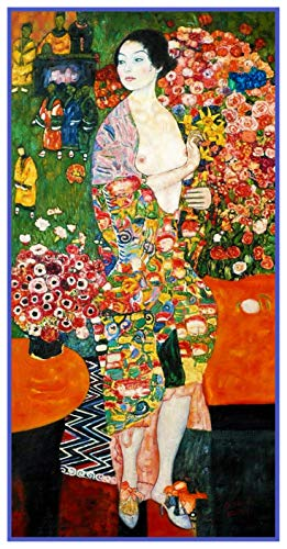 Orenco Originals The Dancer by Gustav Klimt Counted Cross Stitch -