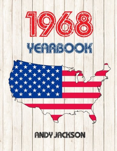 1968 U.S. Yearbook: Interesting original book full of facts and figures from 1968 - Unique birthday gift or anniversary present idea!