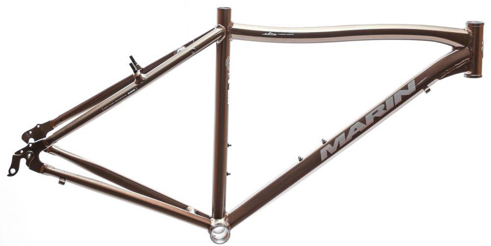 20.5'' MARIN SAUSALITO Hybrid Commuter Bike Frame Alloy Bronze Gloss 700c NOS NEW
