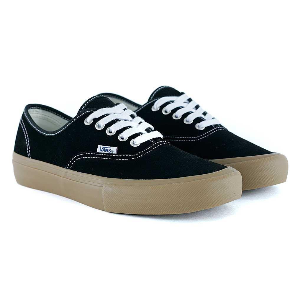Vans AUTHENTIC, Unisex-Erwachsene Sneakers  42.5 EU|Black Light Gum