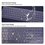 """Keyboard Cover for HP Envy x360 2-in-1 15.6"""" Laptop"""