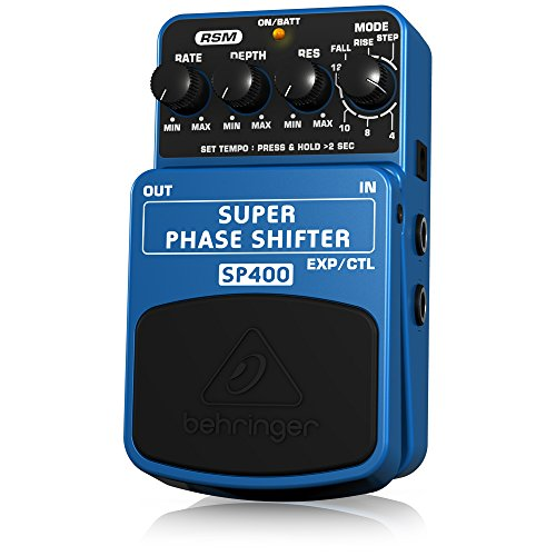 Behringer SP400 Super Phase Shifter Ultimate Phase Shifter Effects Pedal (Phase Shifter Effects Pedal)