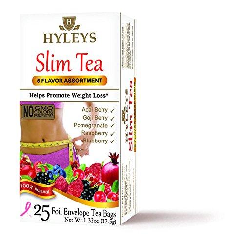Hyleys Tea Hyleys Slim Tea 5 Flavor Assortment