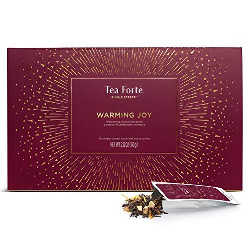 Tea Forte Warming Joy Single Steeps Loose Leaf Tea Sampler