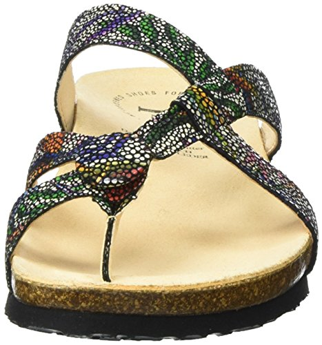 Think Julia, Chanclas para Mujer Multicolor (sz/multi 03)