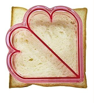 Bricolaje Cortar pan de molde Sandwich gráficos Ortografía tostadas cortar cachorro delfín dinosaurio car almuerzo molde,A,Amor: Amazon.es: Bricolaje y ...