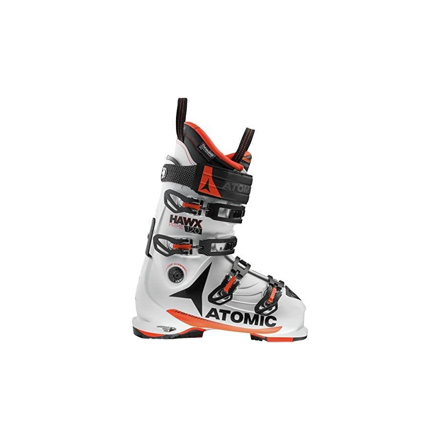 Atomic Hawx Prime 120 Ski Boot White/Orange, 26.5
