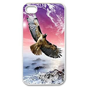 Iphone 4,4S Eagle Phone Back Case Use Your Own Photo Art Print Design Hard Shell Protection LK070609