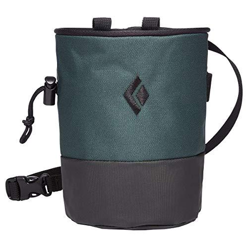 Black Diamond Mojo Zip Chalk Bag - Deep Forest/Slate Small/Medium