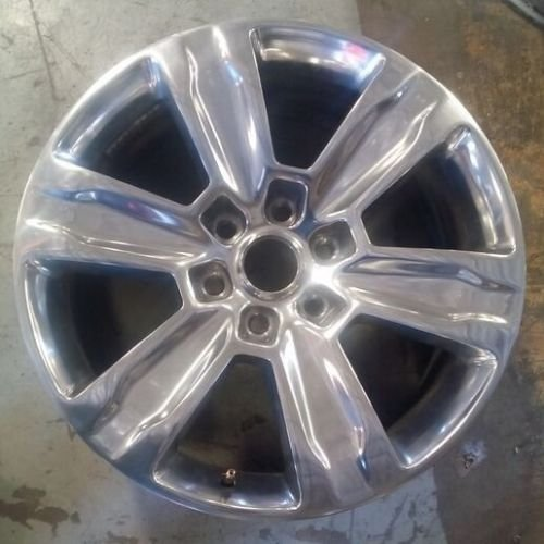 Ford F150 Alloy Wheel - 20 INCH 2015 FORD F150 OEM ALLOY POLISHED WHEEL RIM 10004 20x8.5 6X135 FL3Z1007J