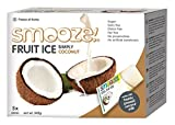 Smooze All Natural Fruit Ice Lollies Simply Coconut 65 ml (Pack of 3, Total 15)