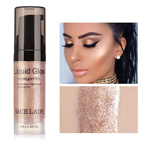 Hoshell 6ML Sexy Liquid Glow Highlighter Lip Foundation Make