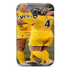 For Phonedecor Galaxy Protective Case, High Quality For Galaxy S4 Wvu Soccer Skin Case Cover