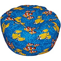 Ahh! Products Ocean Reef Washable Kid Bean Bag Chair Plush