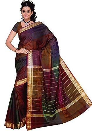 Trendofindia Indian Bollywood Sari Arco Iris: Amazon.es: Ropa y accesorios