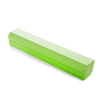 Envoltura de plástico cortador, PAWACA alimentos frescura Wrap, dispensador de papel de aluminio y