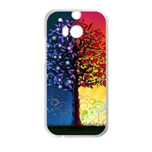 The Magic Love Tree Hight Quality Plastic Case for HTC M8