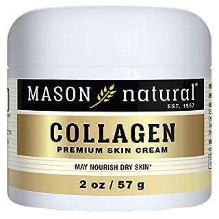 Mason Vitamins Collagen Beauty Cream 100% Pure Collagen Pear Scent, 2-Ounce Jars