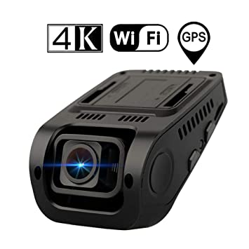 RWXING 4K 2160P WiFi GPS Dashcam con Tarjeta Micro SD 128 GB ...