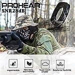 PROHEAR 036 [Mise à Niveau] Casque Anti Bruit de Tir Electronique Silicone Coussinets d'oreille Remplaçable,SNR 28dB… 12