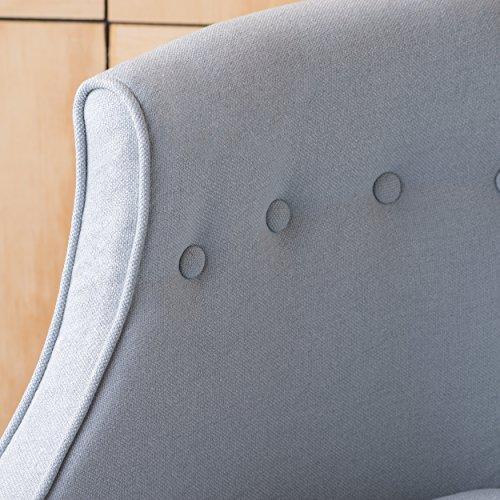 Christopher Knight Home 300282 Brandi Arm Chair, Light Sky