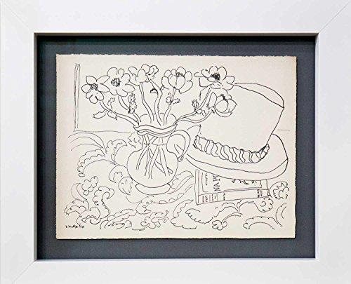 - Matisse, Henri Nature Morte au Chapeau Tahitien, Limited Editon Lithograph, 1944.