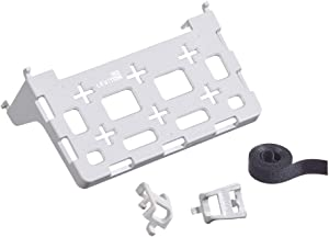 Leviton 49605-AUB Plastic Universal Shelf Bracket for Structured Media Center, White