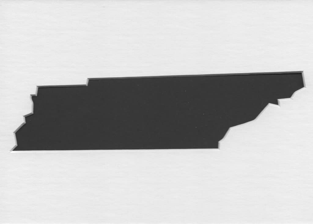 Pack of 3 Tennessee State Stencils Made from 4 Ply Mat Board 16x20 8x10 11x14