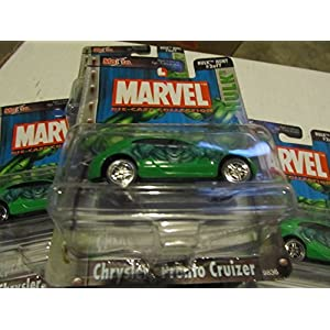 Marvel Die Cast Hulk Chrysler Pronto Cruizer