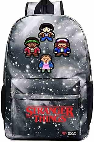 YOUNELO Kid s Cartoon Stranger Things Rucksack School Backpack Bookbag for Boys  Girls(c3) ec6ab8622e