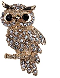 Jewelry Full Cute Owl Brooches and Pins for Wedding Party