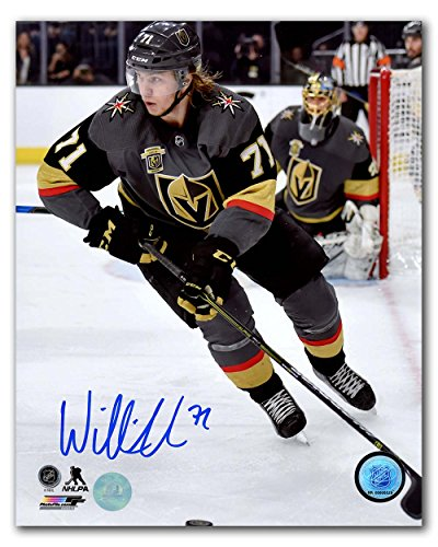 William Karlsson Vegas Golden Knights Autographed Inaugural Season 8x10 Photo by Autograph Authentic