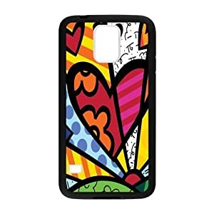 Canting_Good Romero Britto colorful art Custom Case Shell Skin for Samsung Galaxy S5 (Laser Technology)