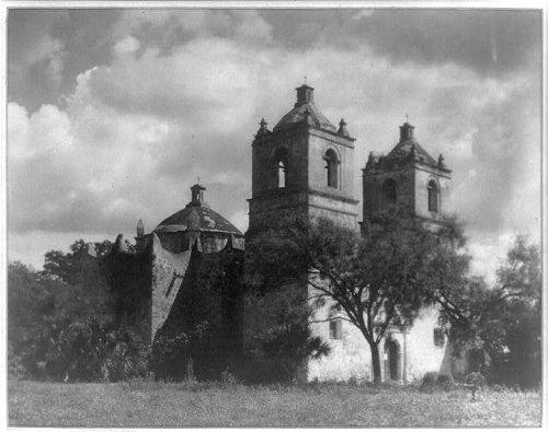 Photo: Mission Concepcion,San Antonio,Texas,TX