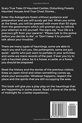 True Ghost Stories: Scary True Tales of Haunted Castles, Disturbing