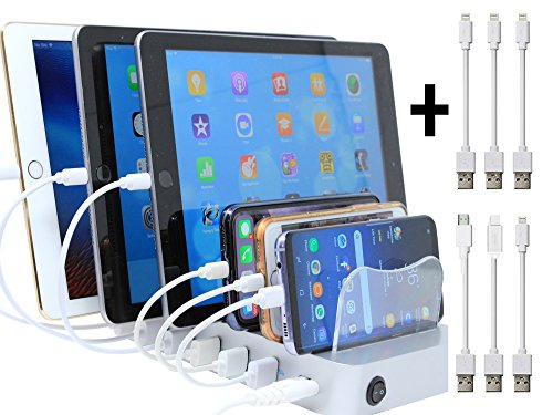 Hercules Tuff Charging Station   Iphones & Ipads Dock or Stand   Cables included by Hercules Tuff