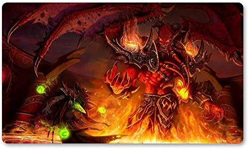 Warcraft9 – Juego de mesa de Warcraft tapete de mesa Wow juegos teclado Pad Tamaño 60 x 35 cm World of Warcraft Mousepad para Yugioh Pokemon MTG o TCG: Amazon.es: Oficina y papelería