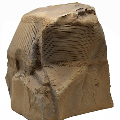TIC TFS25-CN 8″ Outdoor Weather-Resistant Omnidirectional Rock Speaker (Canyon)
