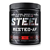 Steel Supplements Rested-AF Post Workout Recovery Aid Promotes Deep Sleep and Muscle Recovery 30 Servings Fruit Punch Review