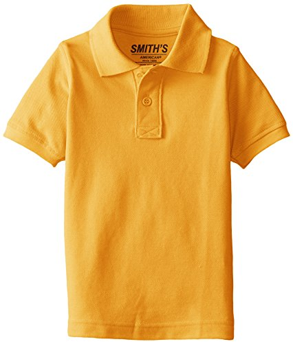 8e358ee87 Smith's American Little Boys' Polo Shirt, Gold, X-Small - Buy Online in  Oman. | Apparel Products in Oman - See Prices, Reviews and Free Delivery in  Muscat, ...