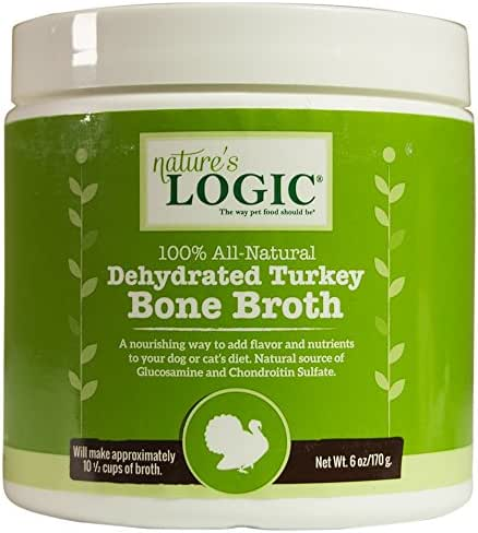 Dog Food: Nature's Logic Bone Broth