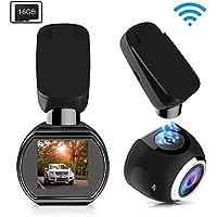 SIV WiFi Car Dash Cam 1.54 inch 1080P Dashboard Camera...