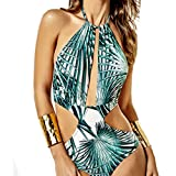 Women's Swimwear One Piece Swimsuit Monokini Push Up Padded Bikini Bathing