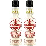 Fee Brothers Rhubarb Cocktail Bitters - 5 oz - 2 Pack