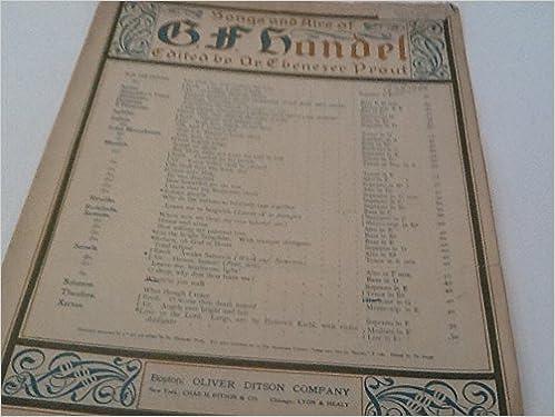 Where'er You Walk (BARITONE IN G) sheet music: Handel, Dr