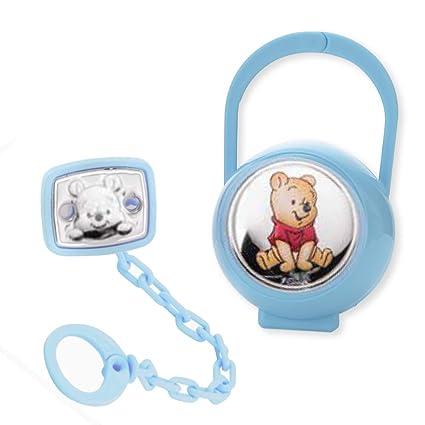 Disney Baby Winnie the Pooh - pinza chupete, cadena portachupete con ...