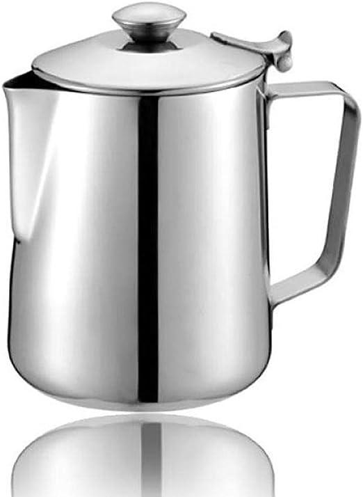 Hokaime Espumador de café Espresso de Acero Inoxidable Taza de ...