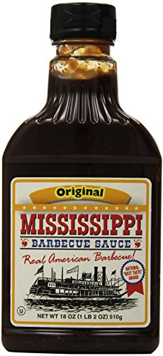 Mississippi Sauce Bbq - Mississippi BBQ BBQ Sauce, Original, 18-Ounce (Pack of 6)
